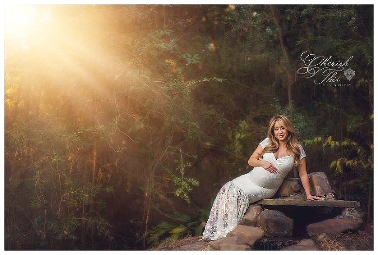 Friendswood Maternity Sunset Session