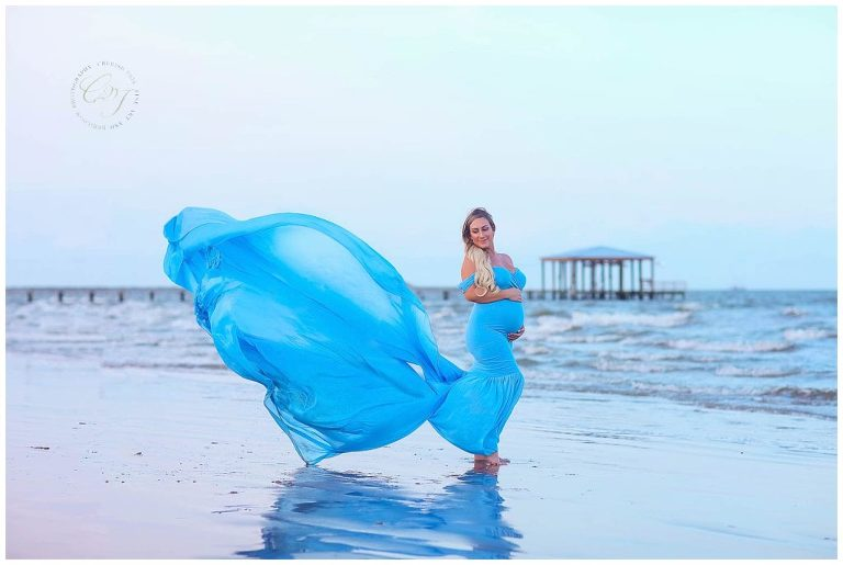 Whimsical Maternity Photography in Houston, TX