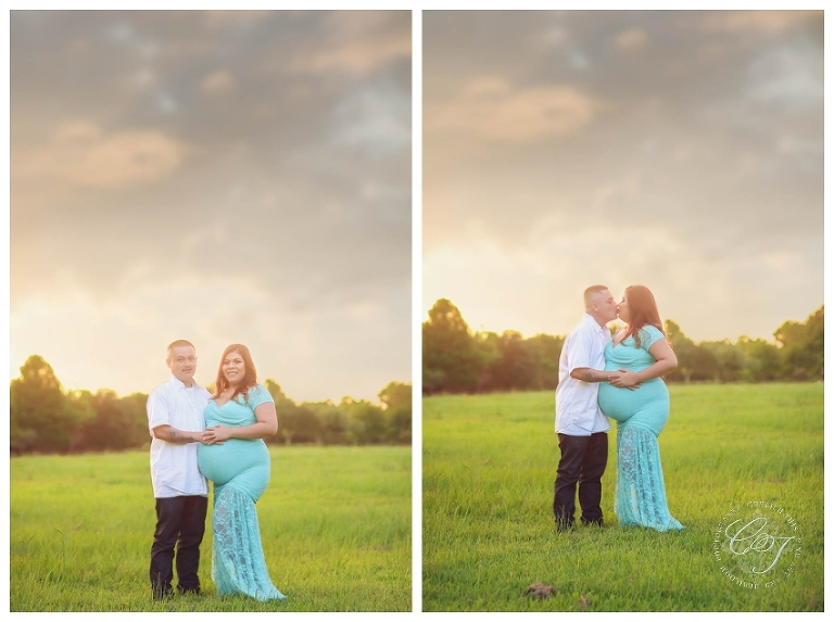 Houston Family Sunset Maternity Photographer